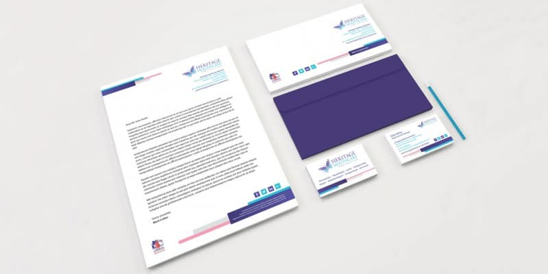 Heritage Healthcare stationary